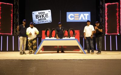 CEAT Ltd launches Tubeless range of Gripp XL and Zoom X3 tyres at India Bike Week 2019