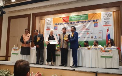 VMSIIHE bags award on Education Excellence at the International Achievers Summit in Thailand