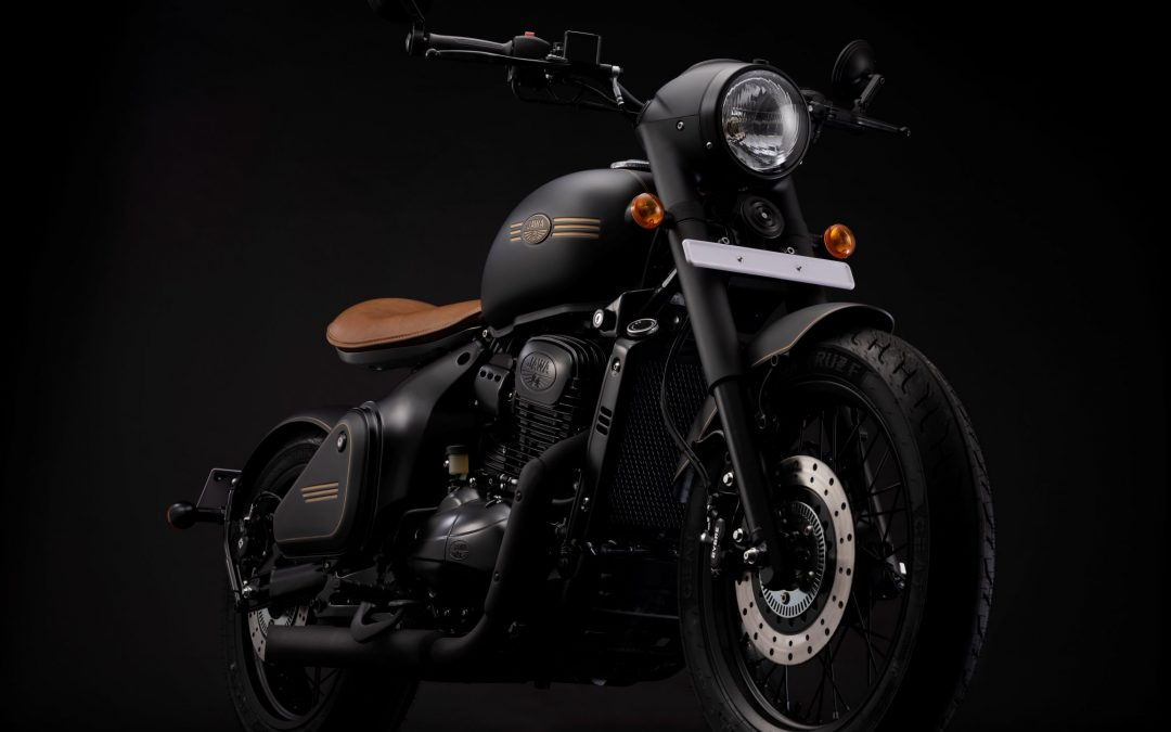 India's first Factory custom, Jawa Perak, hits the streets across the country