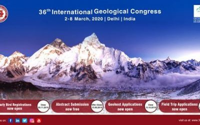 The 36th International Geological Congress 2020 to host exciting Field Trips & Geo tourism spots across the Indian sub-continent in February and March 2020