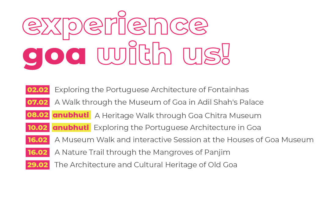 Curated Heritage Walks Being Held in Goa at Third Edition of 'India Heritage Walk Festival' by Sahapedia in collaboration with InterGlobe Foundation