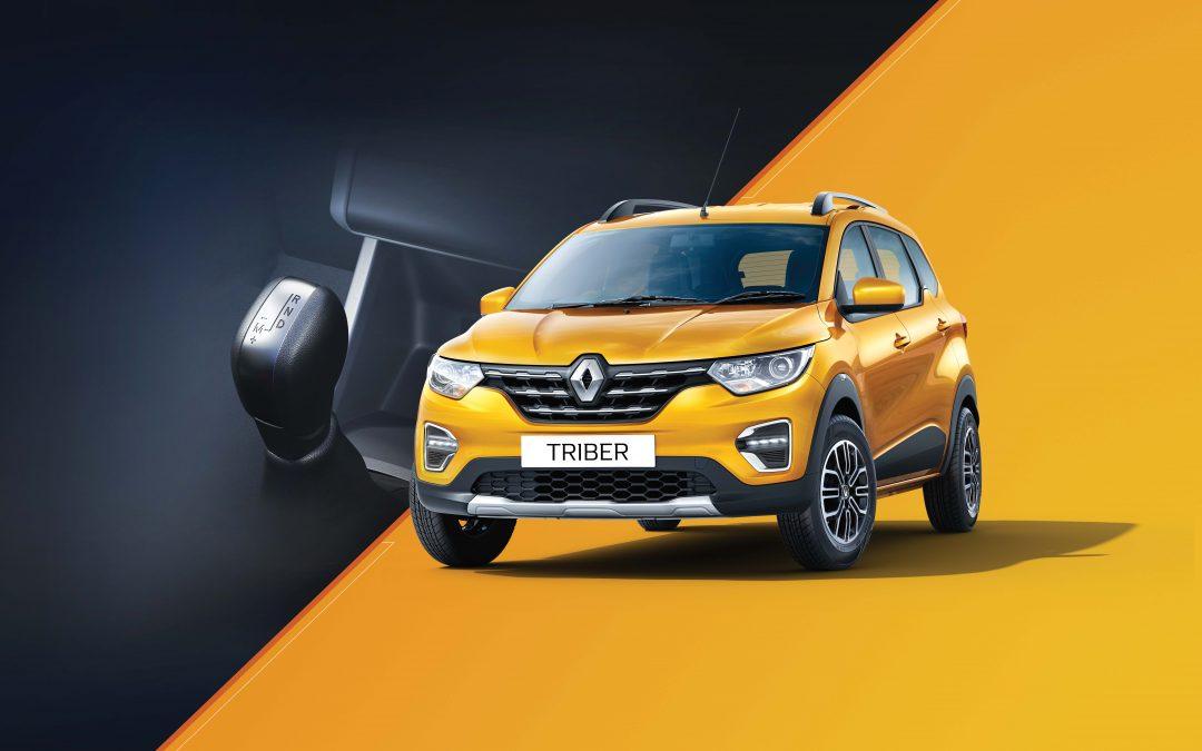 RENAULT OPENS BOOKINGS FOR TRIBER EASY-R AMT PRICE STARTS AT INR 6.18 LAKHS