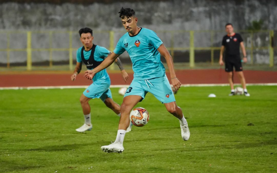 Edu Bedia extends his stay with FC Goa for two more years