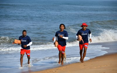Three rescued in separate kayaking incidents at Palolem and Agonda; quadruple rescue in Calangute