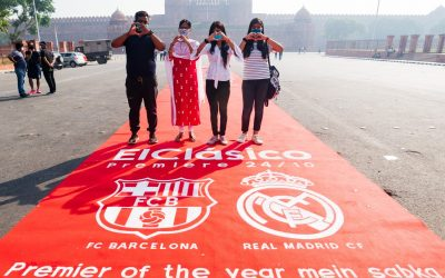 LALIGA ROLLS OUT RED CARPET AT THE RED FORT, NEW DELHI AND MULTIPLE CITIES AROUND THE WORLD TO CELEBRATE ElClásico SHOWPIECE
