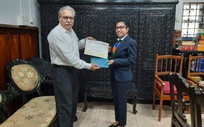 District Legal Services Authority to adopt slogans submitted by students of VMSIIHE