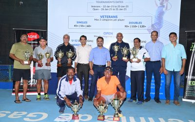 Gadre Gaspar Dias Open 2021 Veterans Finals Results