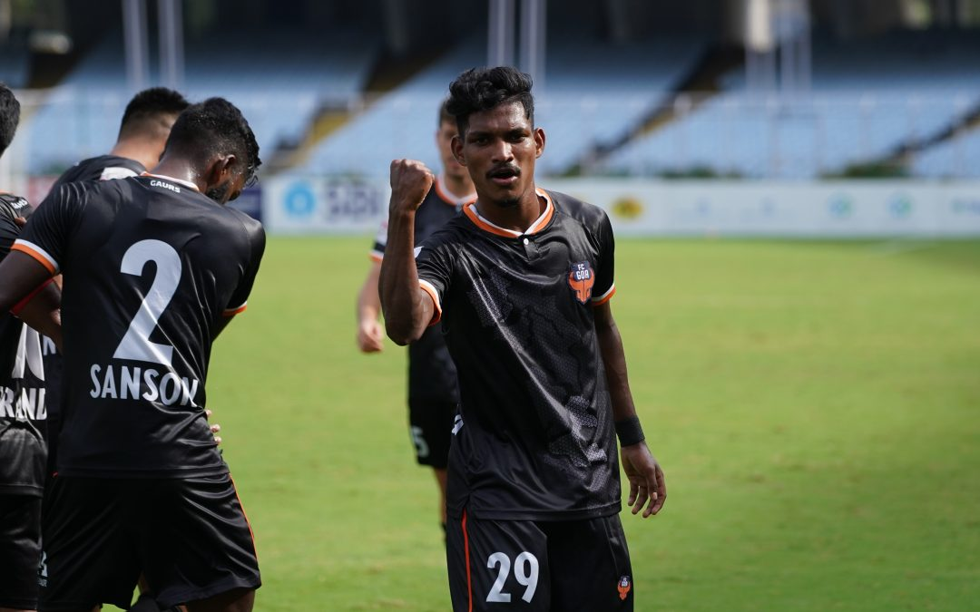 FC Goa defeat Jamshedpur 5-0 to finish top of Group B  ~Devendra Murgaokar and Md. Nemil score a brace each to help Gaurs breeze past the opponents