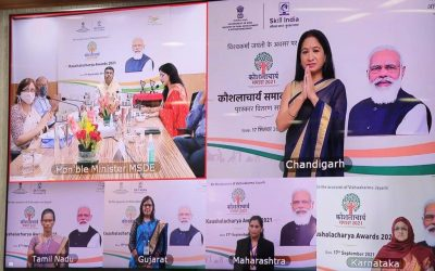 41 trainers felicitated on Kaushalacharya Awards 2021; 1 trainer from Goa recognised for her contribution